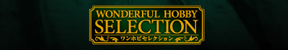 WONDERFUL HOBBY SELECTION バナー